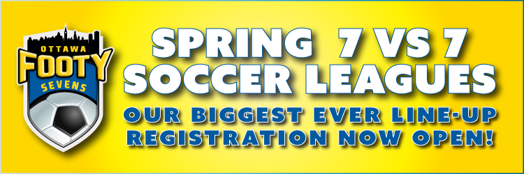 Ottawa Footy Sevens Spring Soccer Leagues